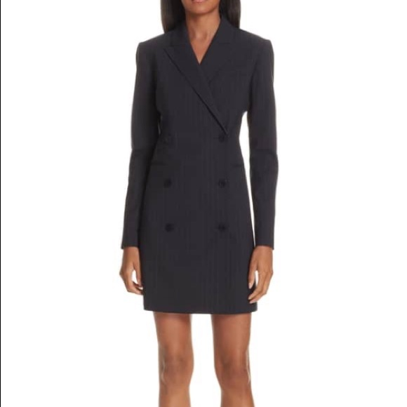 05c54fa9d8b97 Theory Good Wool Pinstripe Blazer Dress. M_5c171059c89e1dd3f20c231d
